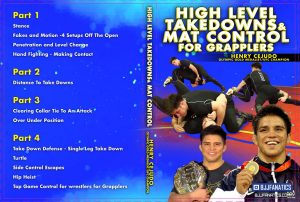 Henry Cejudo Grppling Cover NEW 1024x1024 300x202 - No-Gi Takedowns - The Best DVDs and Digital Instructionals
