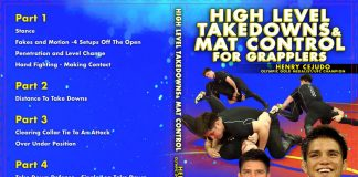 Henry Cejudo DVD Review - High Level takedowns Adn Mat Control For grapplers