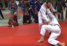 Russian tie throw with the Gi