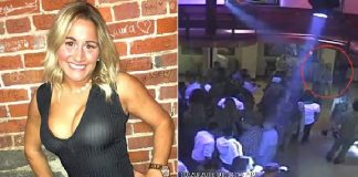 125 lb Woman Chokes Out the Bouncer for Allegedly Groping Her