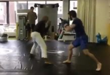 Jiu-Jitsu Instructor Challenged by Experienced Boxer