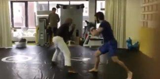Jiu-Jitsu Instructor Challenged by Experienced Boxer