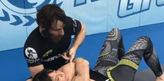 No-Gi Bow And Arrow Choke