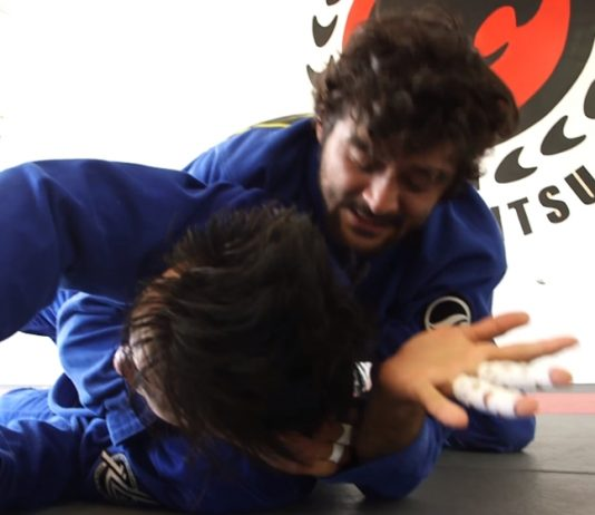 Arm-In BJJ Ezekiel Choke