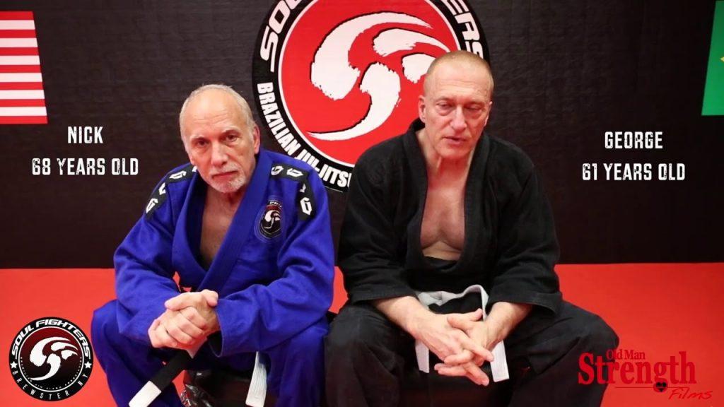 Practice jiu-Jitsu Old Age