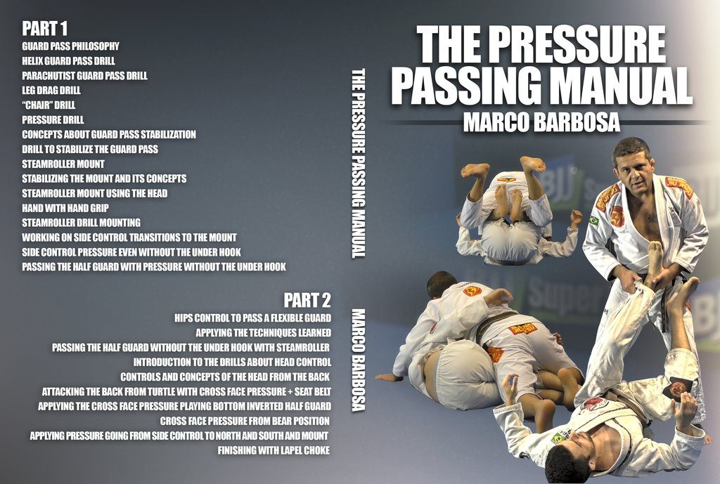 Marco Barbosa BJJ DVD Pressure Passing Manual