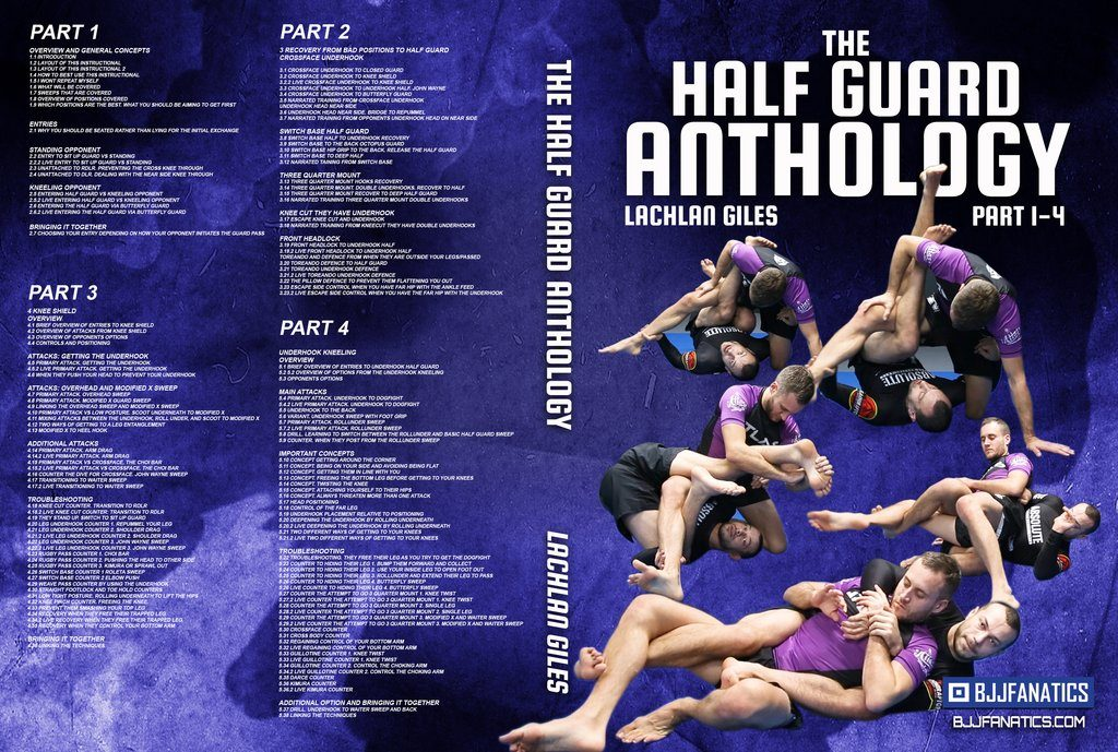 Lachlan Giles DVD Instructional the half guard anthology Best BJJ DVD Of 2019
