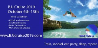 Brazilian Jiu-Jitsu Cruise Vacation: Submissions On The High Seas