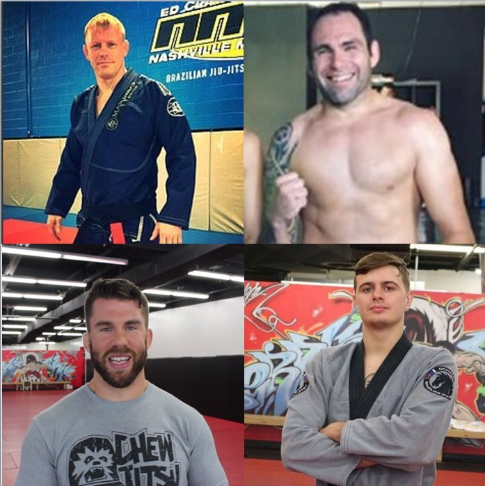 Brazilian Jiu-Jitsu Cruise Instructors