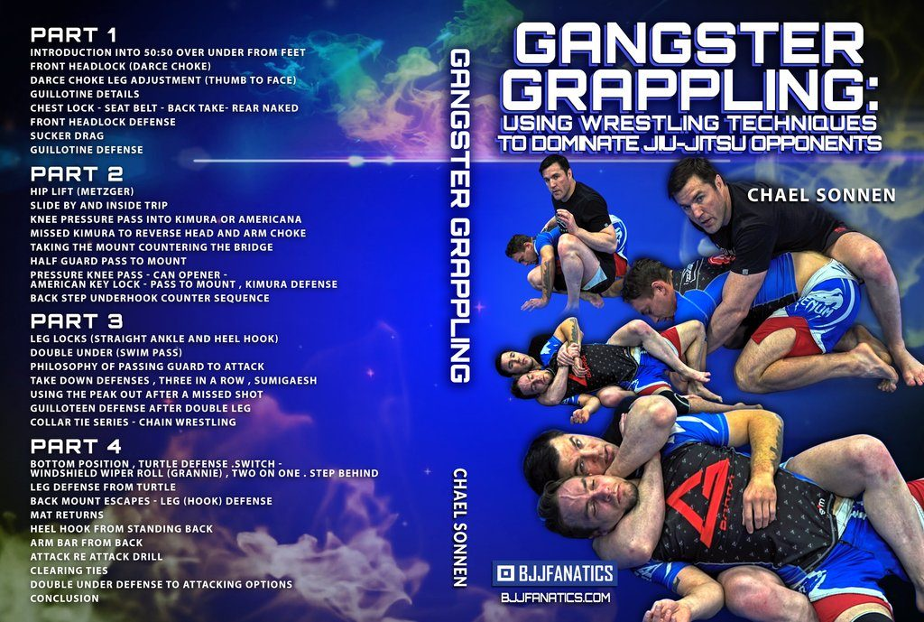 Chael Sonnen Best BJJ DVD Gangster Grappling Review