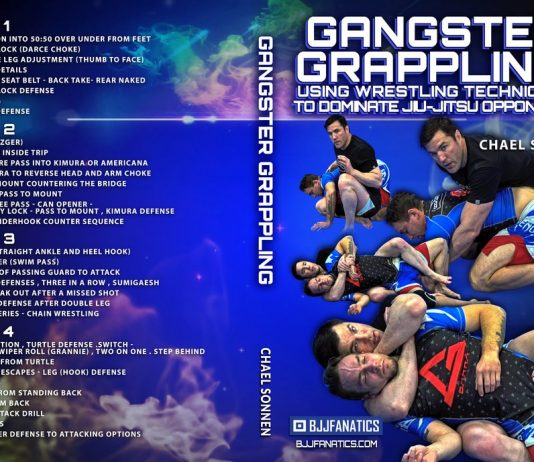 Chael Sonnen DVD Gangster Grappling Review