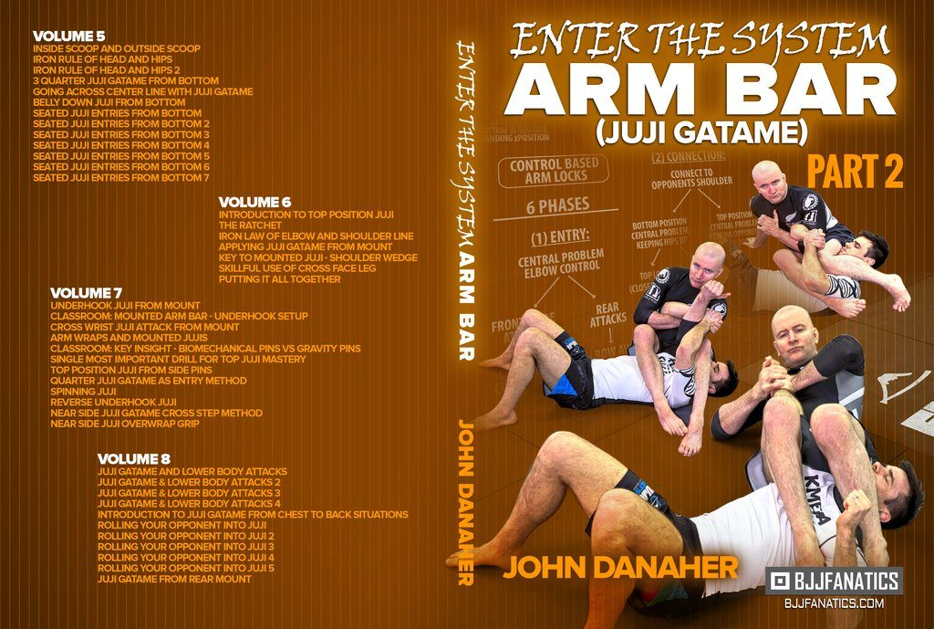 John Danaher DVD Instructional - Enter The System Armbars Techniques And Review