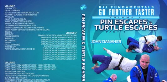 GO Further Faster Pin Escapes And Turtle Escapes John Danaher Gi DVD Instructional FULL Review