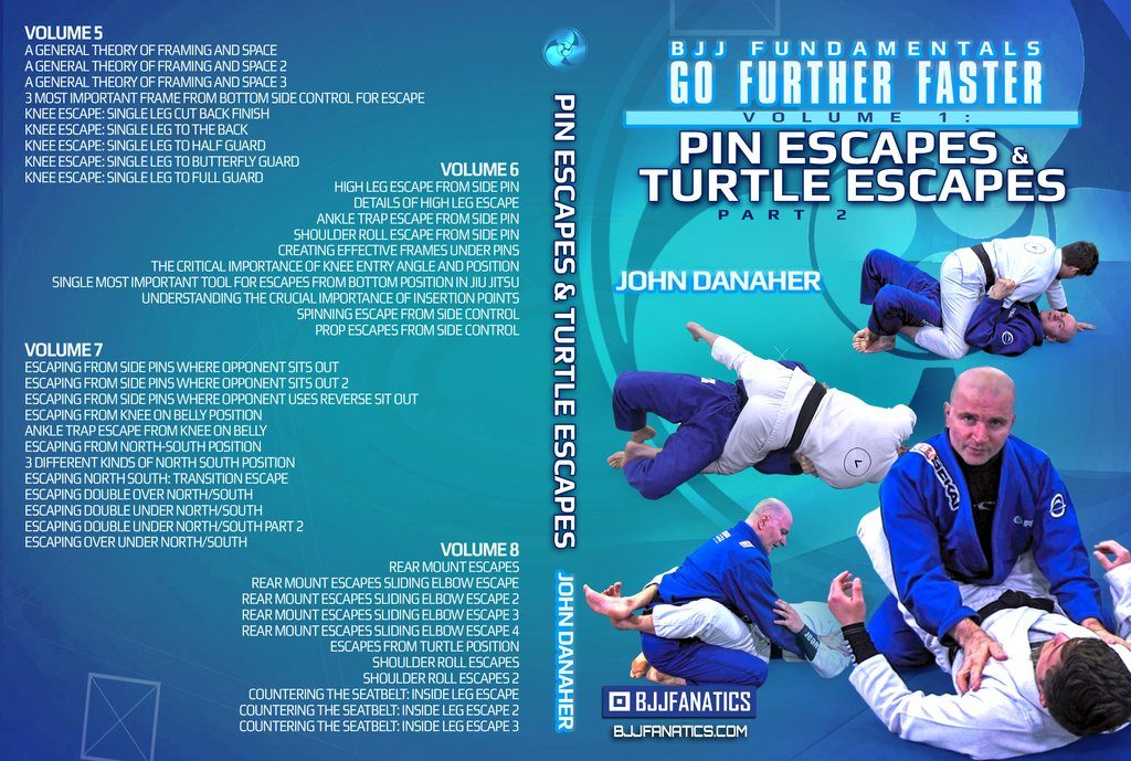 GO Further Faster Pin Escapes And Turtle Escapes John Danaher Gi DVD Instructional Review