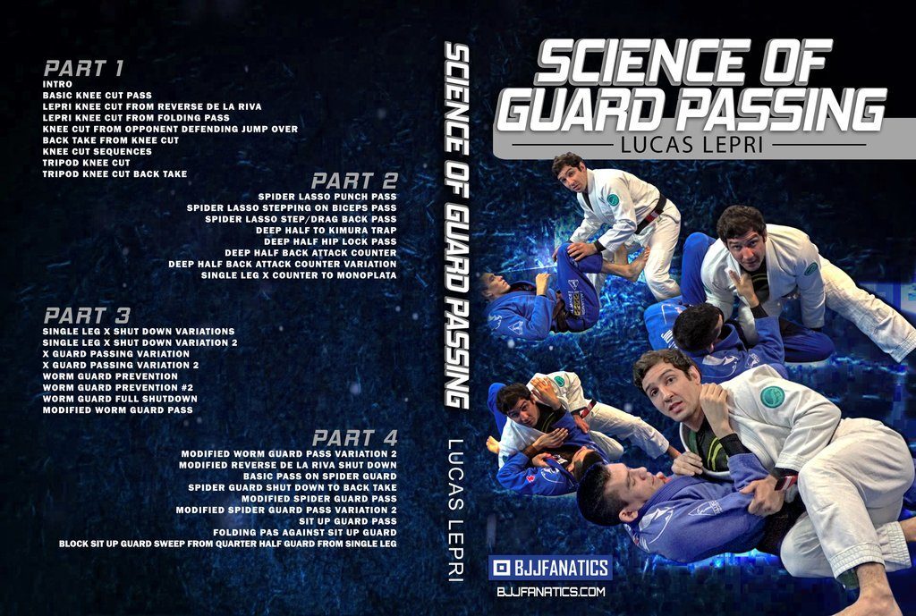Lucas Lepri BJJ DVD Science Of Guard Passing