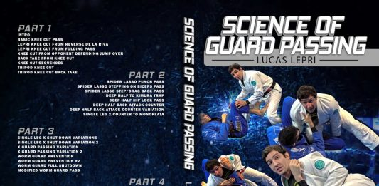 Lucas Lepri DVD Science Of Guard Passing