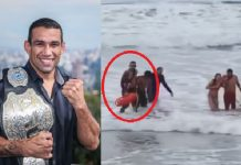 Fabricio Werdum Saving lives of two teens