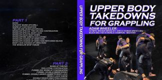 Adam Wheeler DVD Upper Body Takedowns For Grappling