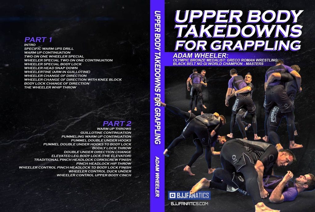 Adam Wheeler BJJ DVD Review Upper Body Takedowns For Grappling