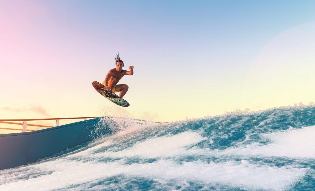 flowrider small 1024x622 - Brazilian Jiu-Jitsu Cruise Vacation: Submissions On The High Seas