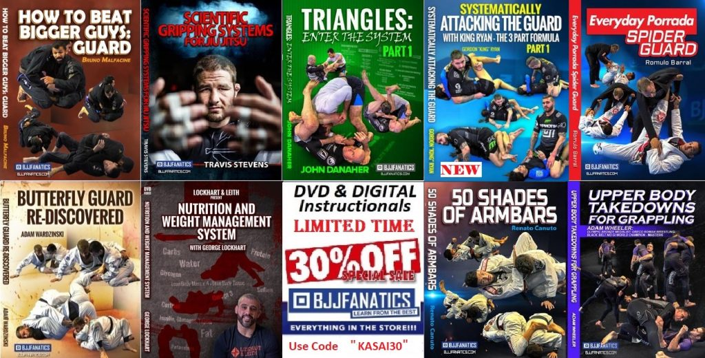 BJJ Fanatics DVD / Ondemand Instructionals