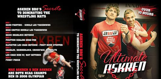 Ultimate Wrestling Ben ASkren DVD