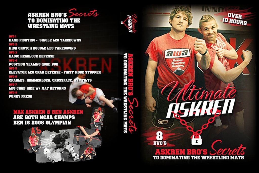 Ultimate Wrestling by Ben ASkren is the Best BJJ DVD for 2019