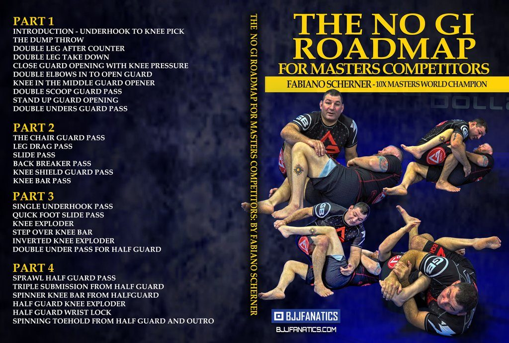 Fabiano Scherner DVD No-Gi Road Map For Masters
