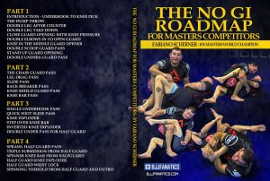 Fabiano Scherner DVD THE NO GI ROAD MAP FOR MASTERS COMPETITORS