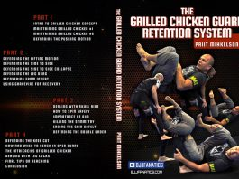 Priit Mihkelson Grilled Chicken Guard retention system