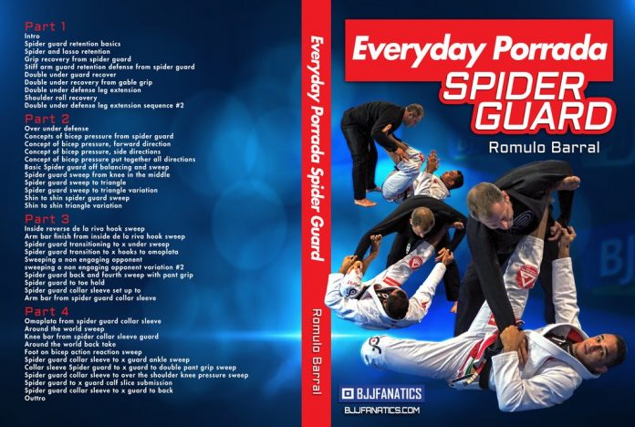 Everyday Porrada SPider Guard Romulo Barral DVD