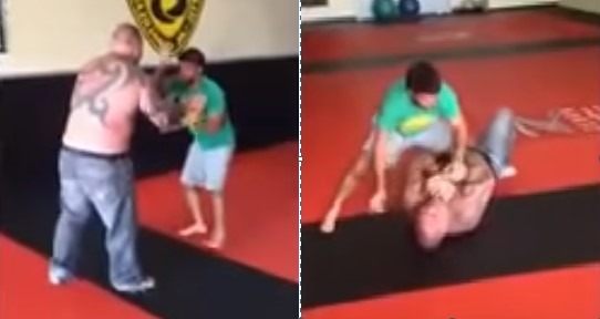 BJJ Black Belt Robson Moura Challenged By Street Fighter for $20