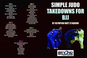 Judo Takedowns for BJJ