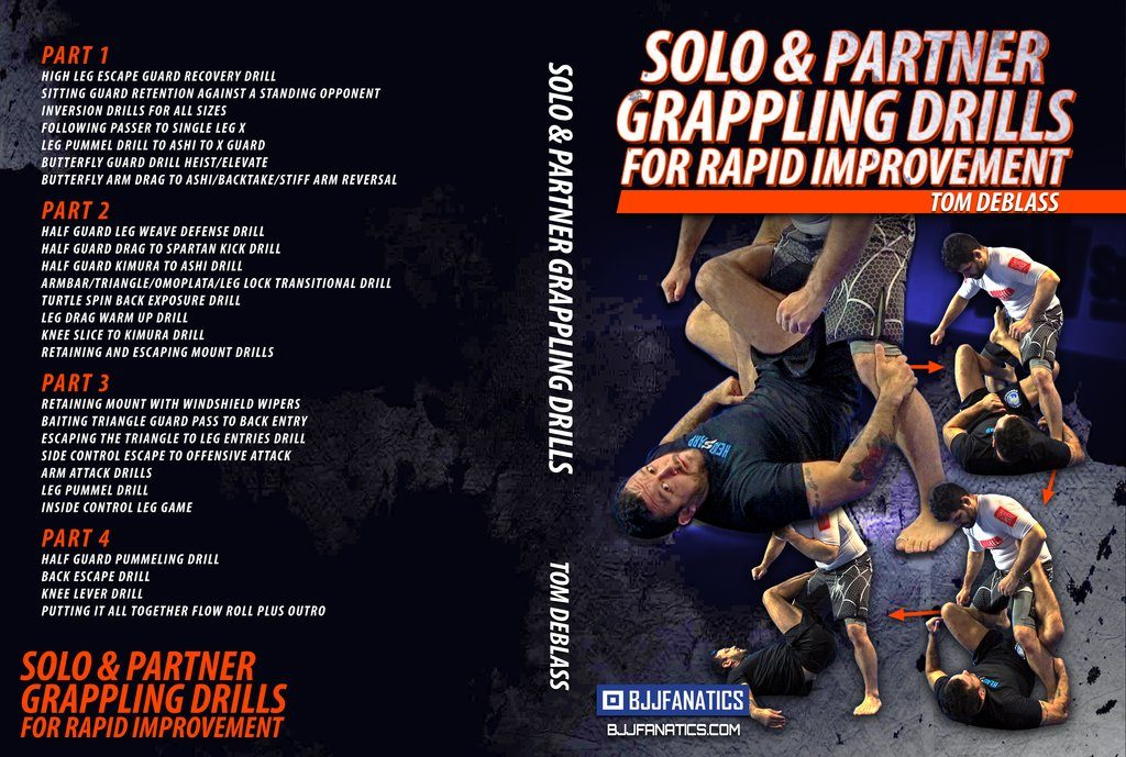 Tom Deblass Solo And Partner Grappling Drills Best BJJ DVD Treview