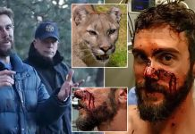 Runner Kills Mountain Lion With Choke