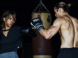 Oscar winner training Jiu-Jitsu for new Halle berry MMA Movie