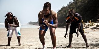 Grappling arts from Senegal, female wrestling professionals