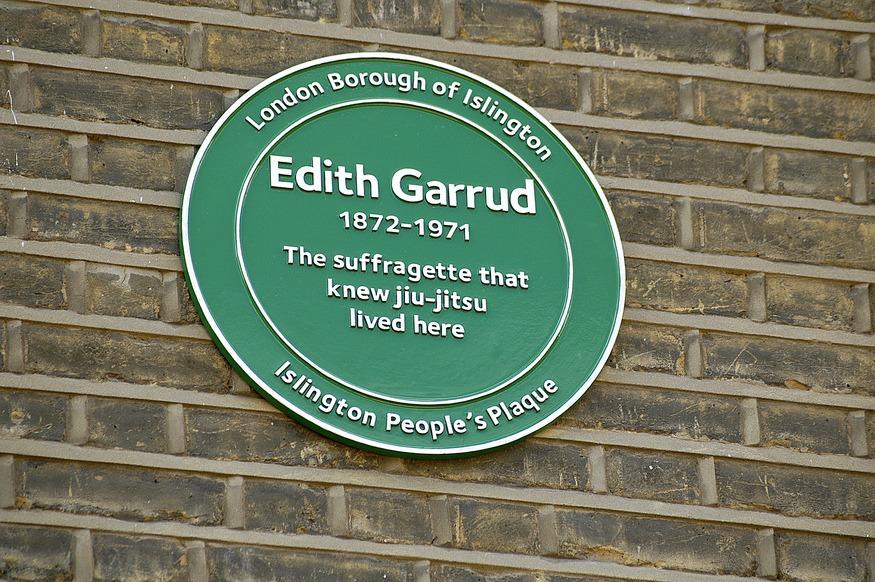 Sufragette Jiu-Jitsu teacher and women's right fighter Edith Garroud