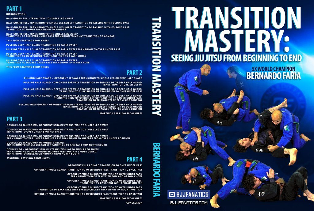 Bernardo Faria Transition Mastery BJJ DVD REVIEW
