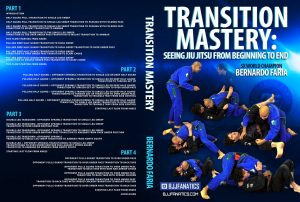 Bernardo Transitions Cover 1024x1024 300x202 - Half Guard -The Best DVDs And Digital Instructionals
