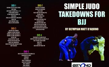 Simple Judo Takedowns For BJJ Matt D'Aquino DVD Instructional Full Review
