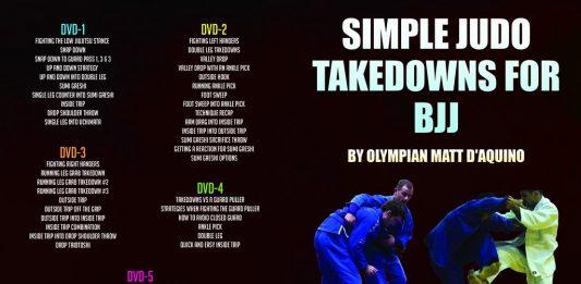 Simple Judo Takedowns For BJJ Matt D'Aquino DVD Instructional Full Review