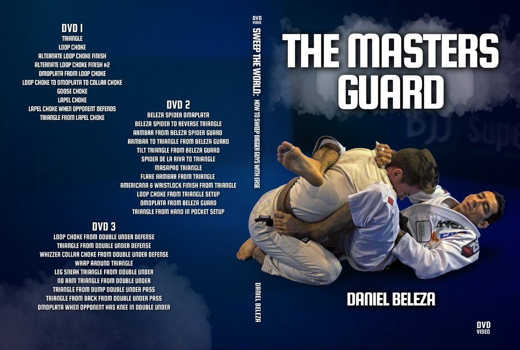 Daniel Beleza Masters Guard DVD Instructional, Best BJJ DVD Of 2019