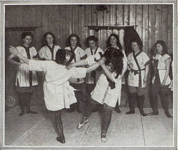 Suffragette Jiu-Jitsu Training With Edith Garroud In London