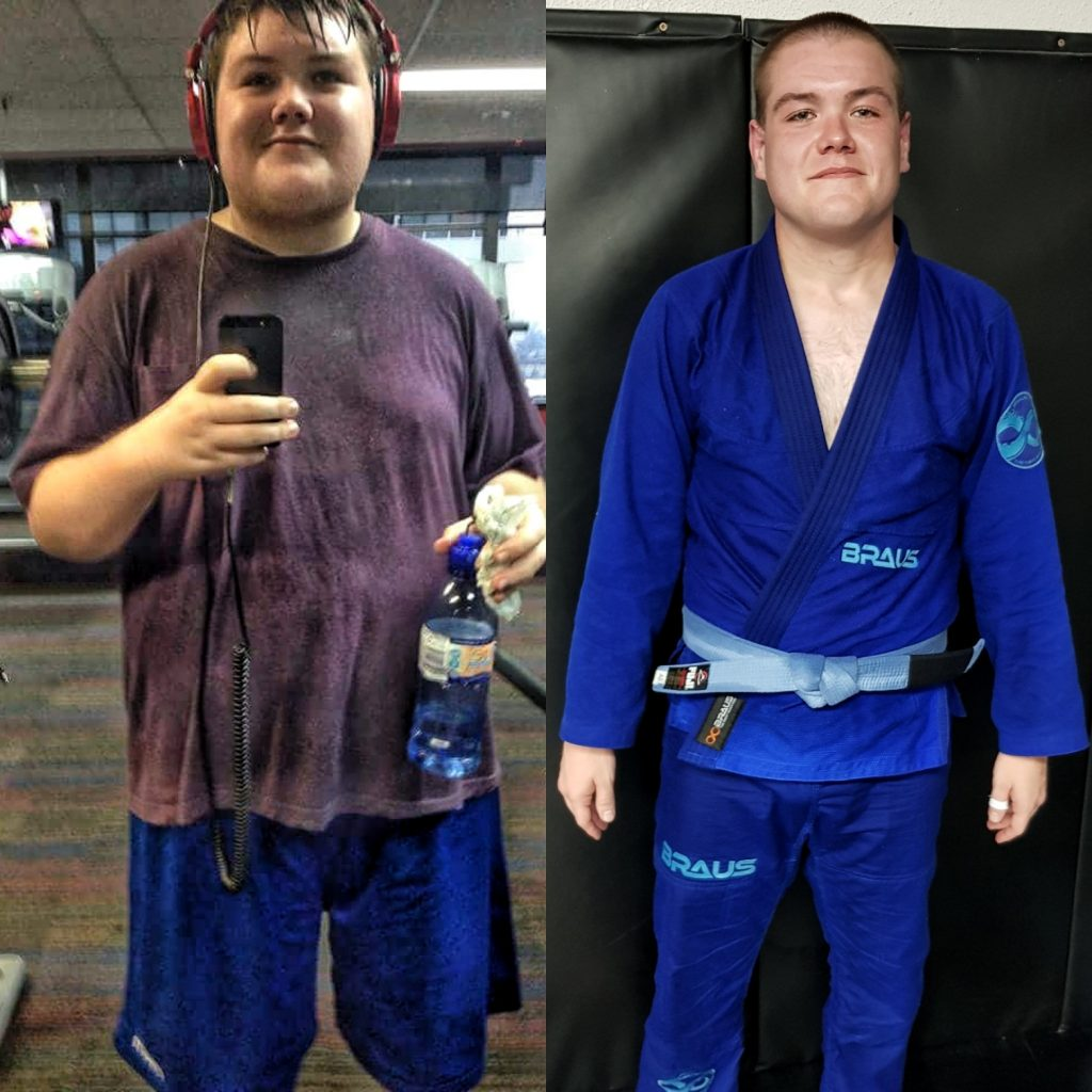 The Liam Porter BJJ Story OF Weight Loss And Transformation