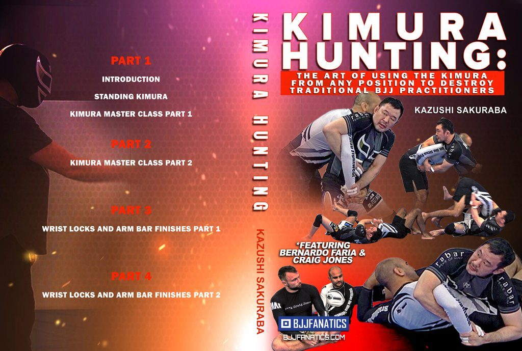 Kimura Hunting 1024x1024 1024x689 - The Best BJJ DVD 2019 - UPDATED!