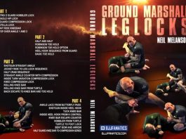 Brand New Neil Melanson DVD Instructional Ground Marshall Leg Locks
