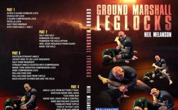 Brand New Neil Melanson DVD Instructional Ground Marshall Leg Locks