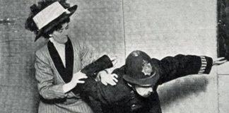 Suffragette Jiu-Jitsu For Women's Right to Vote