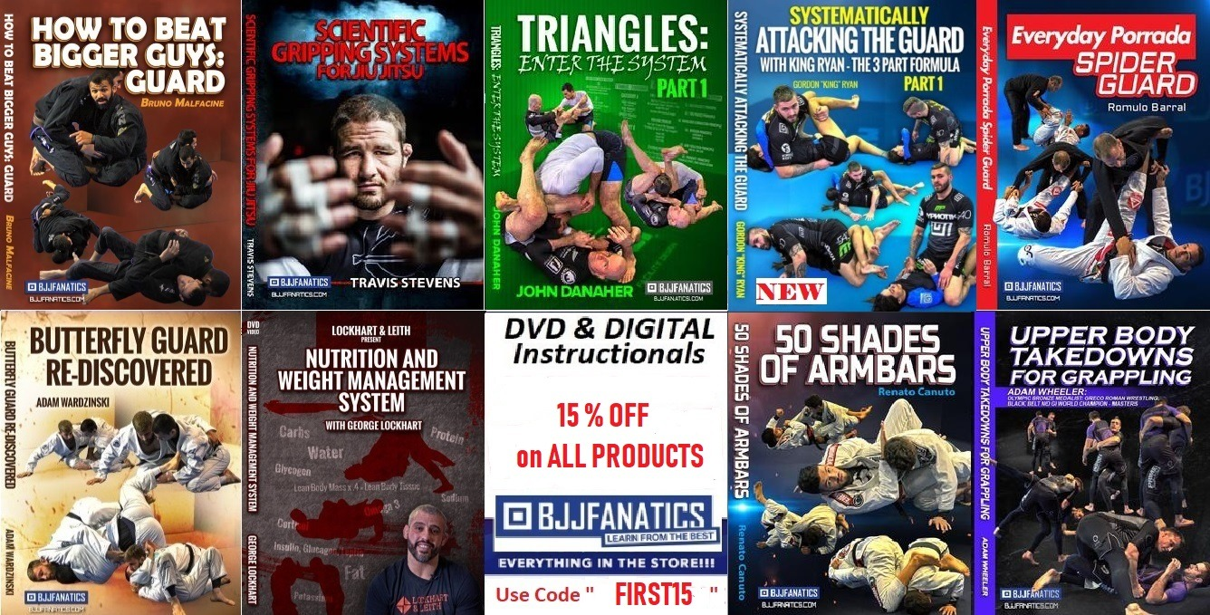 The Best DVD and Digital Instructionals For BJJ White Belts